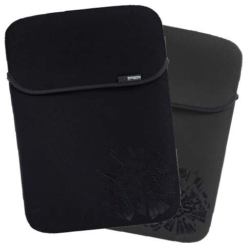 "Smash Cracked Notebook Sleeve 15.4"" Black/Grey"