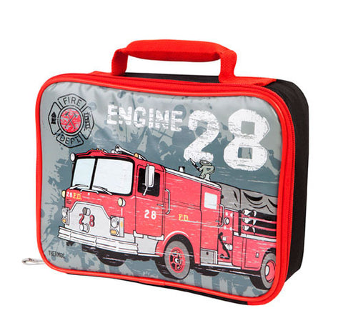 Thermos Funtainer Insulated Lunch Case - Firetruck