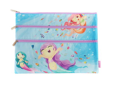 Spencil A4 Pencil Case - Mermaids