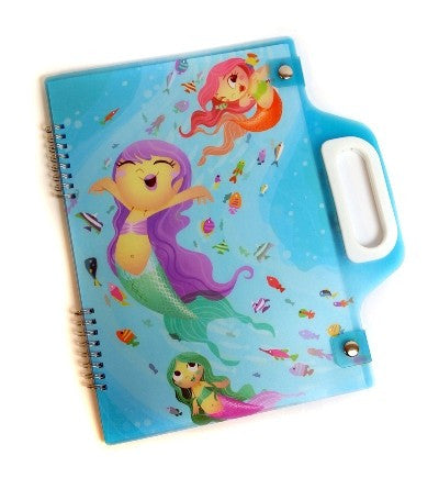 Spencil A4 Carry Pad - Mermaids