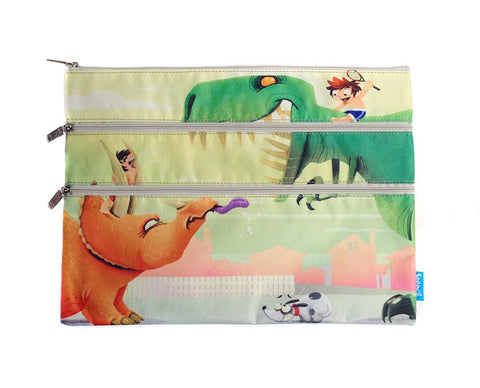 Spencil A4 Pencil Case - Dinosaurs