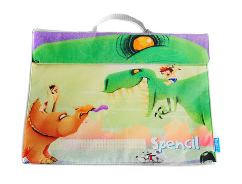 Spencil Library Book Bag - Dinosaurs