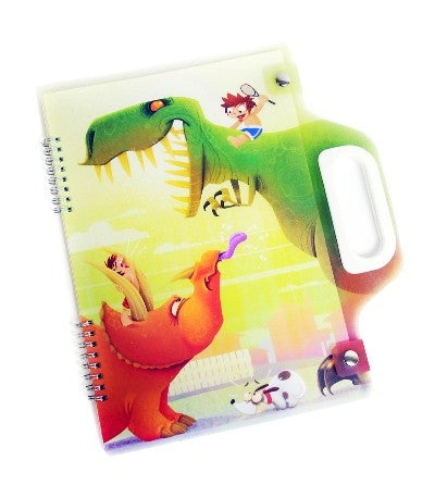 Spencil A4 Carry Pad - Dinosaurs