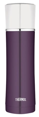 Thermos 470mL St/Steel Vacuum Insulated Compact Bottle - Plum