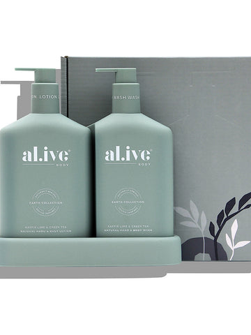 al.ive Body - Kaffir lime & green tea duo