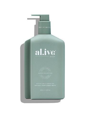 al.ive Hand & Body Wash - Kaffir Lime & Green Tea