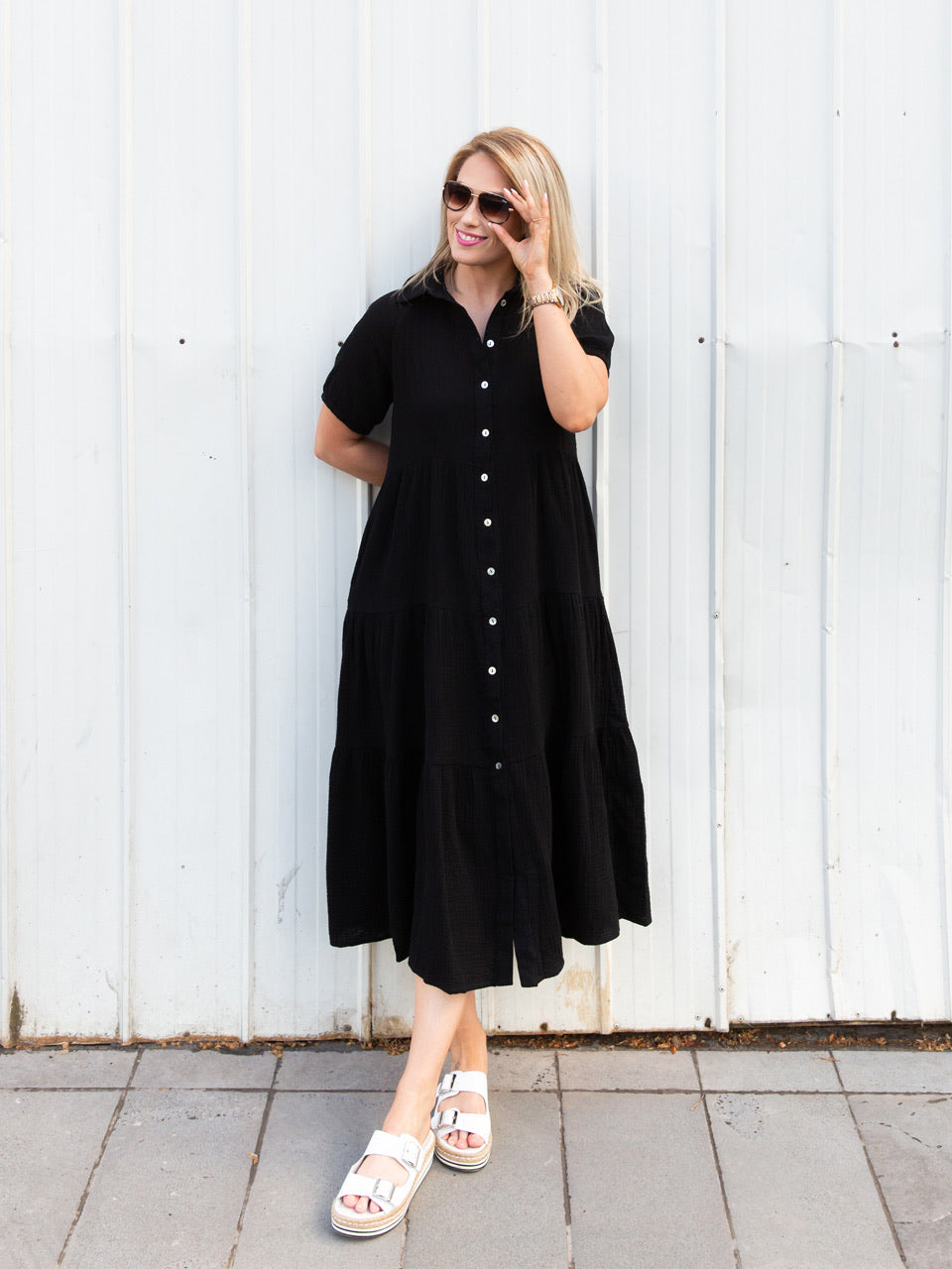 Ebonie Dress ~ Black
