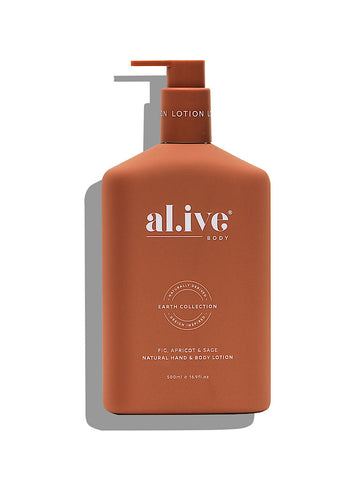 al.ive Body Hand & Body lotion - Fig, apricot & sage