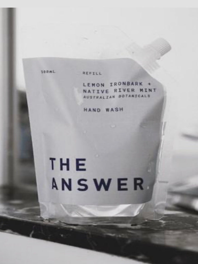 The Answer Hand Wash ~ 500ml Refill Pouch