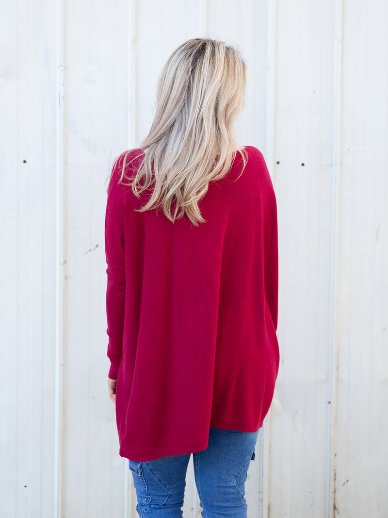 Ellie Knit ~ Plum