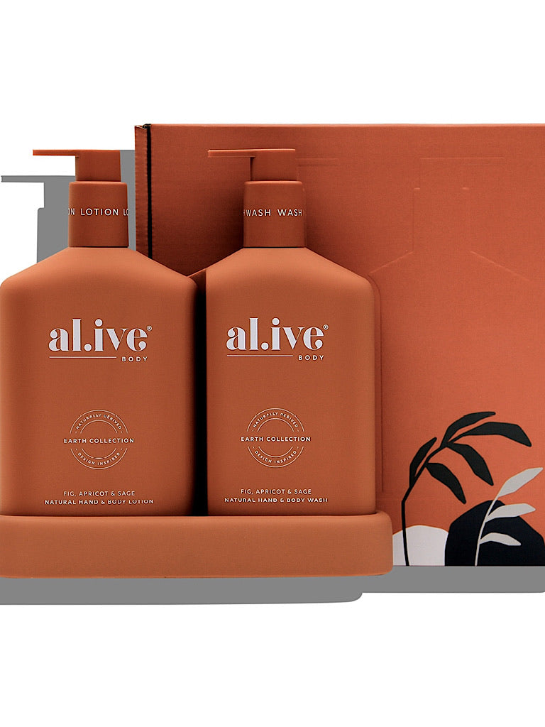 al.ive Body - Fig, apricot & sage duo