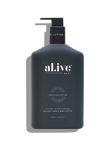 al.ive Body Hand & Body lotion - coconut & wild orange