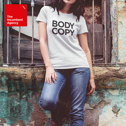 Body Copy T-shirt