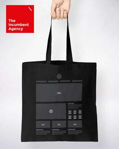 HTeeML Tote Bag - The Incumbent Agency