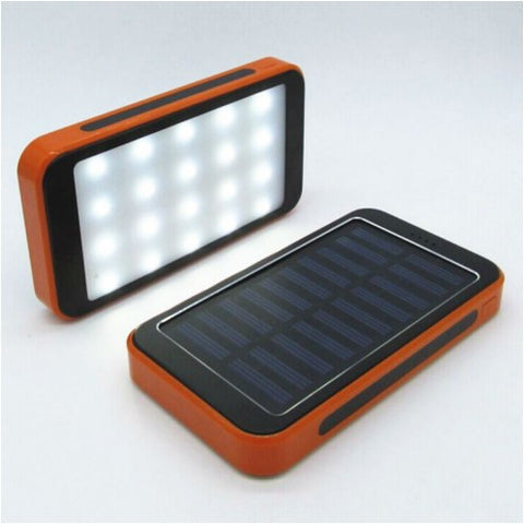 Waterproof Solar Power Bank With Camping Lights
