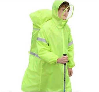 Rain Cape Outdoor Hiking Camping Unisex Rain Gear