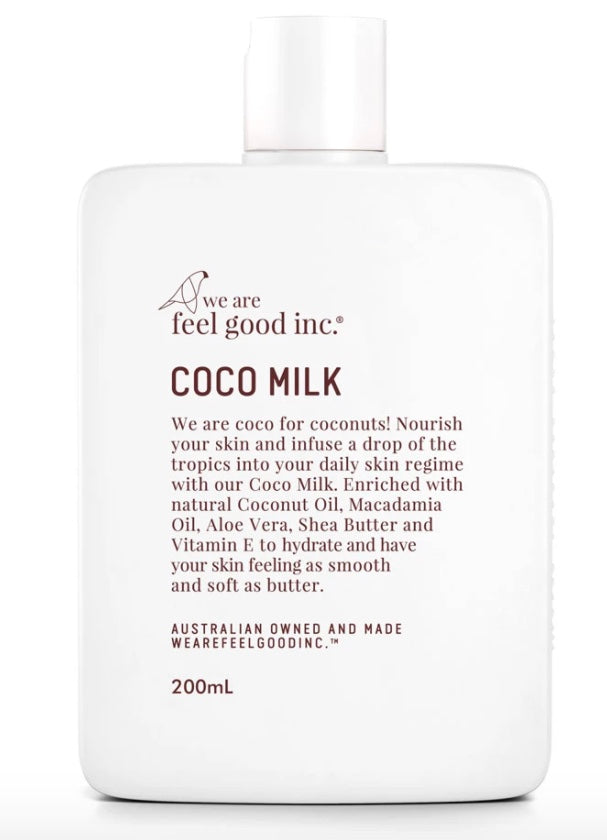 Coco Milk Body Moisturiser 200ml