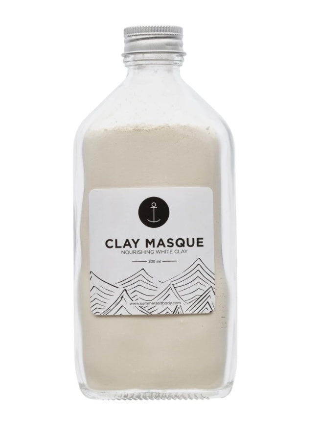 Summer Salt Body White Clay Mask