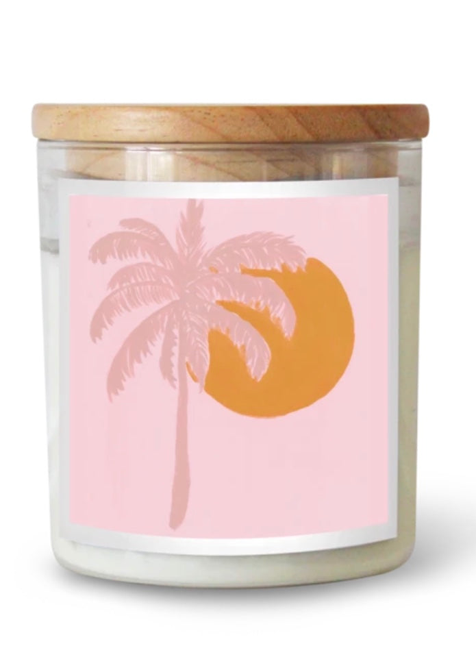 Palm Paradise Soy Candle Commonfolk
