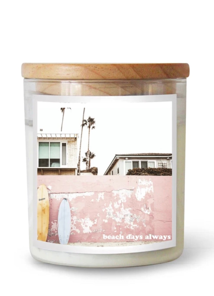 Beach Days Always Soy Candle Commonfolk