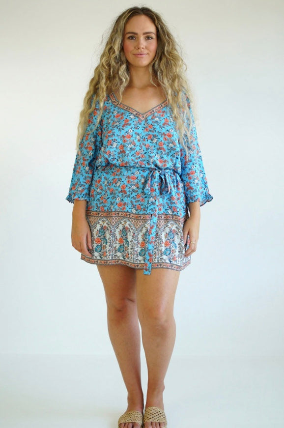 Honey Kaftan Poolside