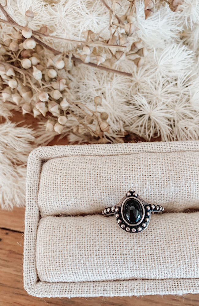 Solace Ring Onyx ToniMay
