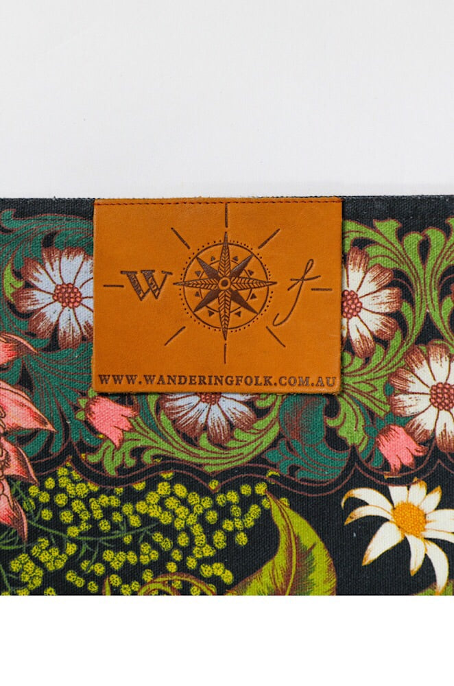 Wandering Folk Native Wildflower Picnic Rug - Wandering Folk Love Iluka | Bohemian Fashion | Boho Style | Spell