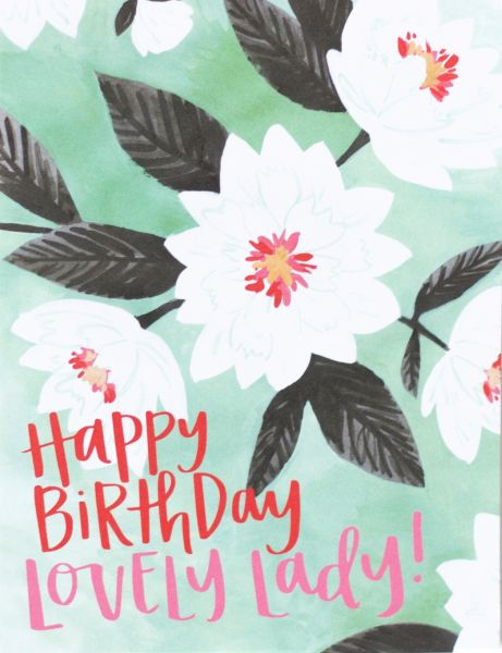 Lovely Floral Birthday Card - VEVOKE Love Iluka | Bohemian Fashion | Boho Style | Spell
