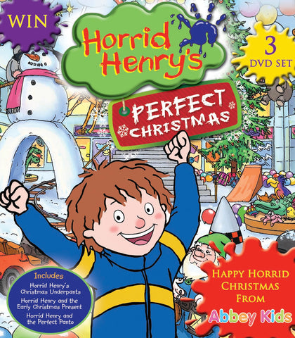 Horrid Henry's Perfect Christmas 3 Disc Set competition