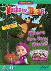 Masha and the Bear: Where Are You, Bear? - 3 DVD BOXSET