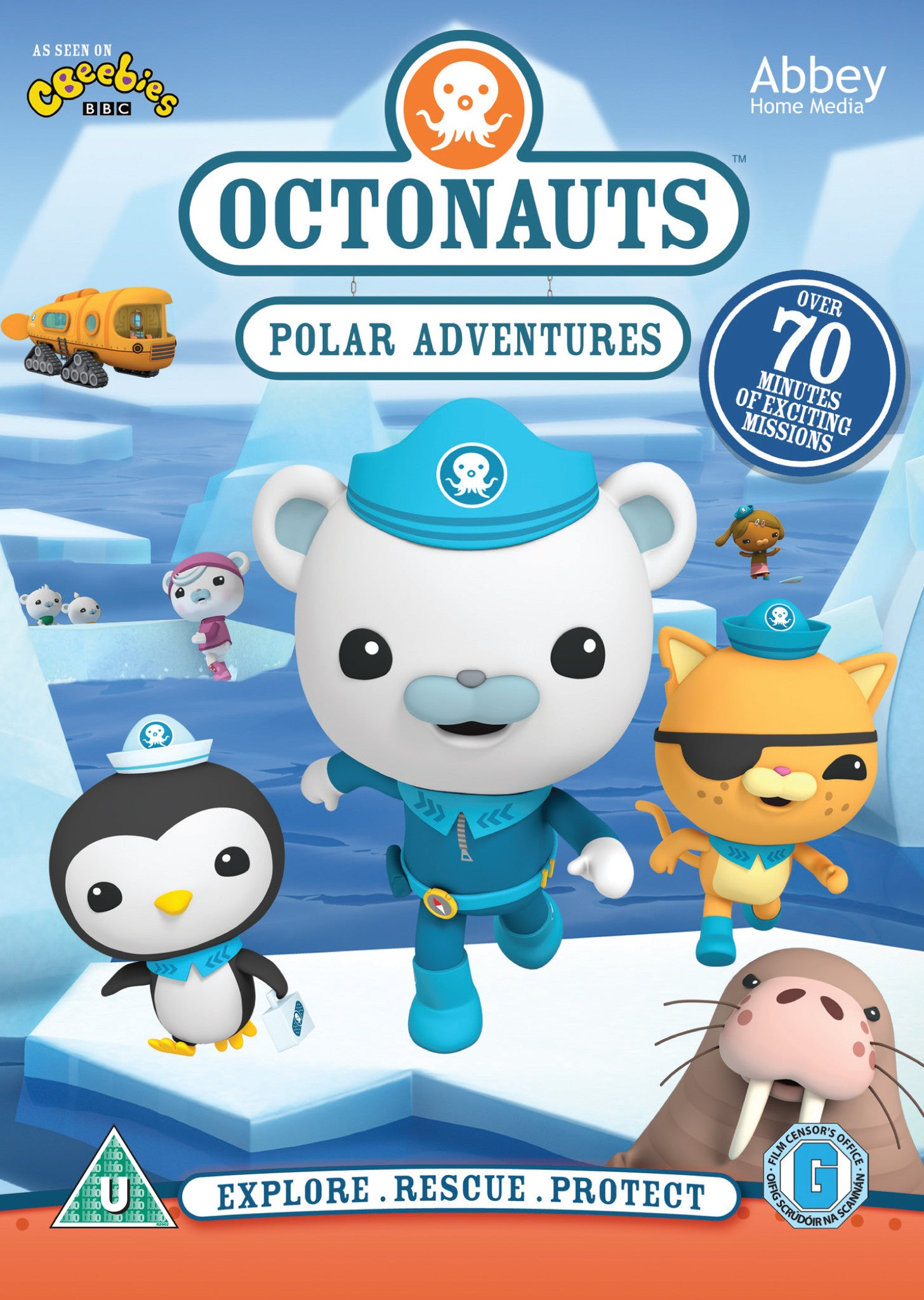 Octonauts: Christmas Adventures - DVD - Abbey Kids
