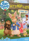 Peter Rabbit: Let's Hop To It! - 3 DVD Boxset!