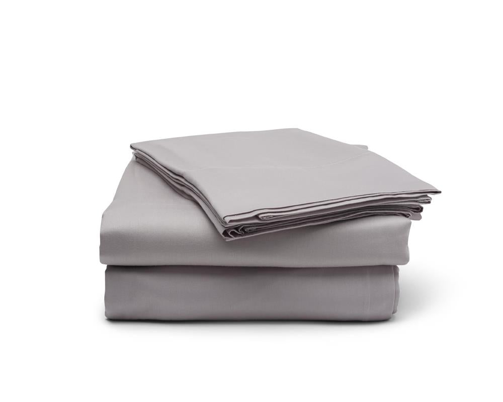 Classic Hem Sheet Set - Cloud Grey - JEFFERSON LANE