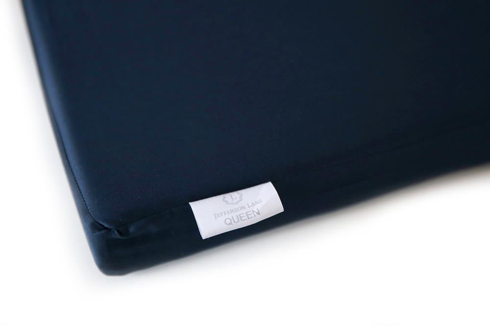 Classic Hem Fitted Sheet - Navy - JEFFERSON LANE