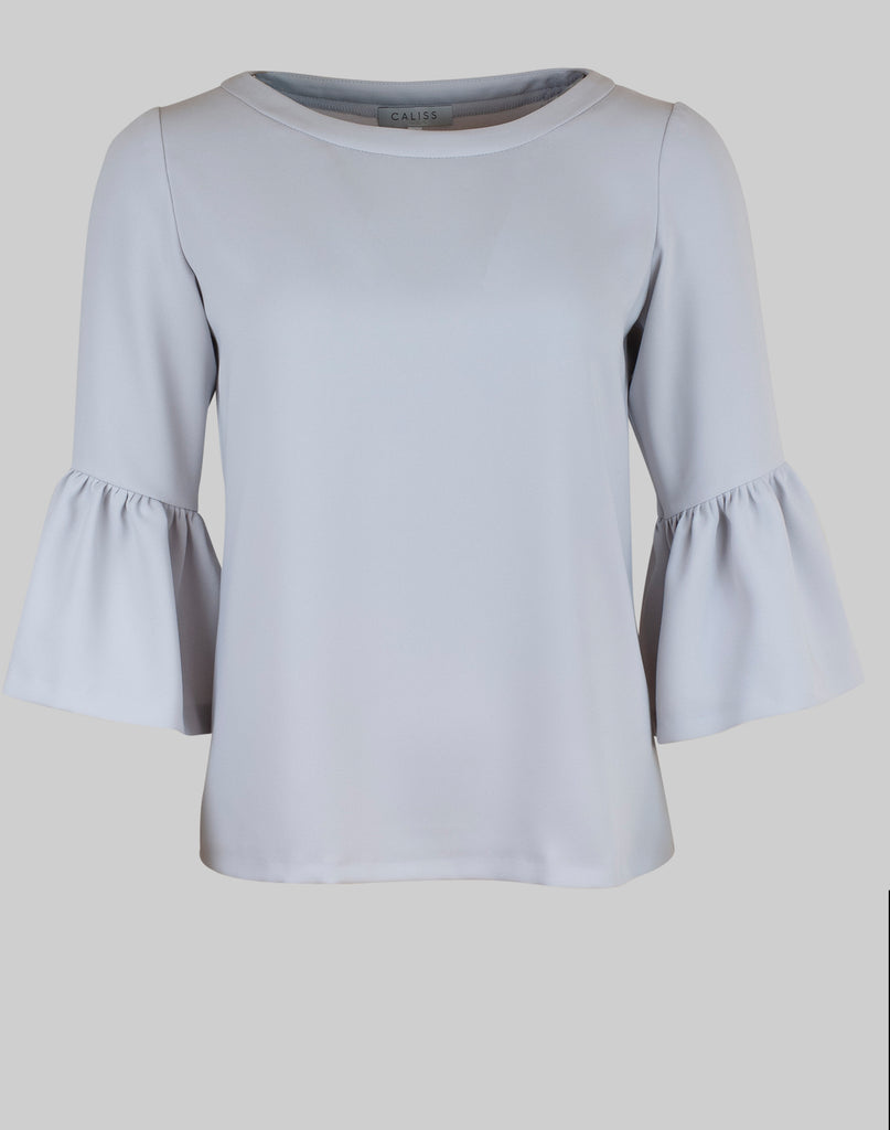 Top Alexia in light grey