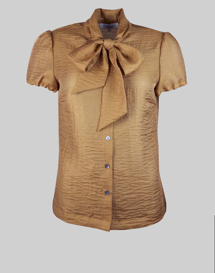 Blouse Anna in Bronze