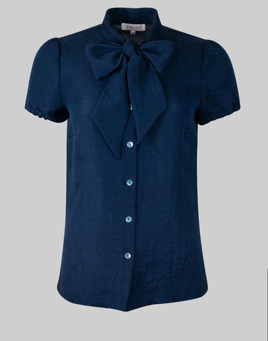 Blouse Anna in french navy
