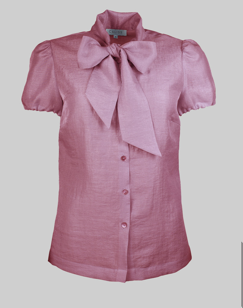 Blouse Anna in orchid pink