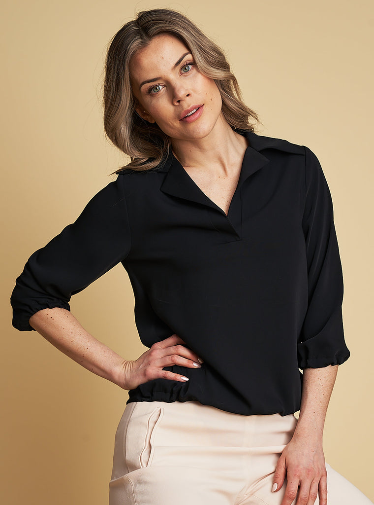 Blouse Elin in Black