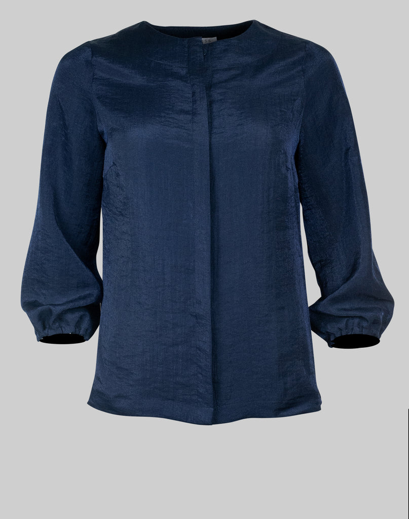 Blouse Diane in french navy
