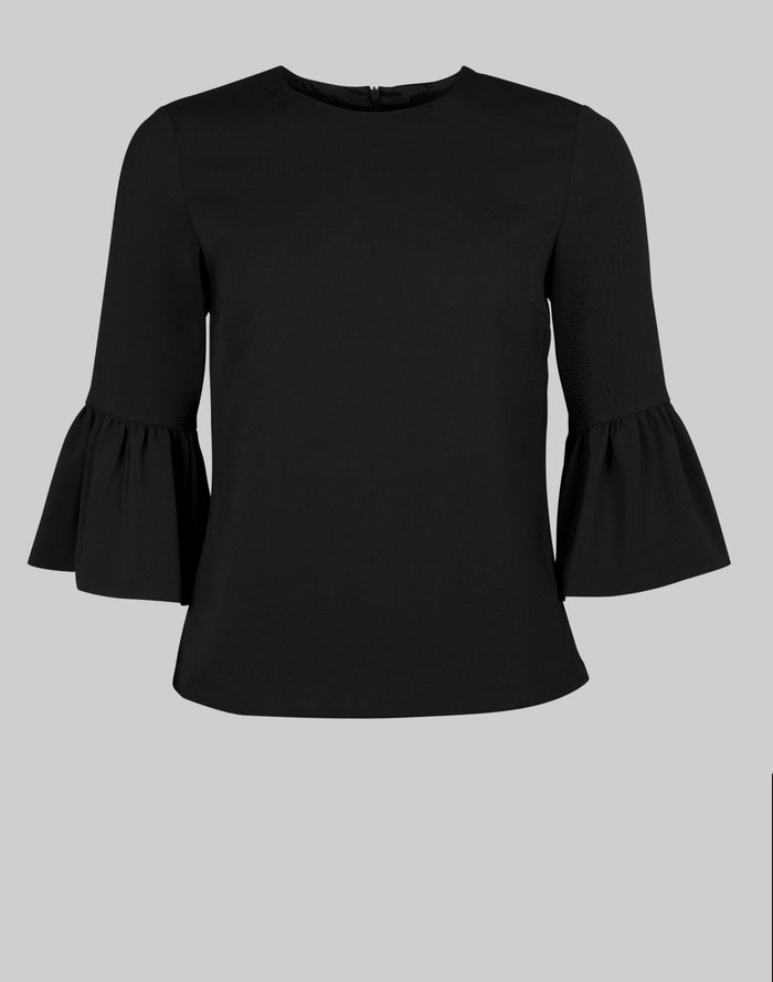 Tailored Top Eliza in black