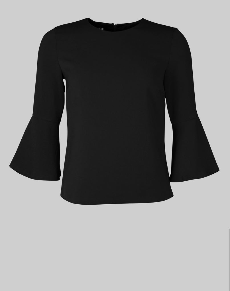 Tailored Top Ellie in black