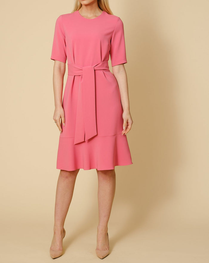 Fallon dress in blush