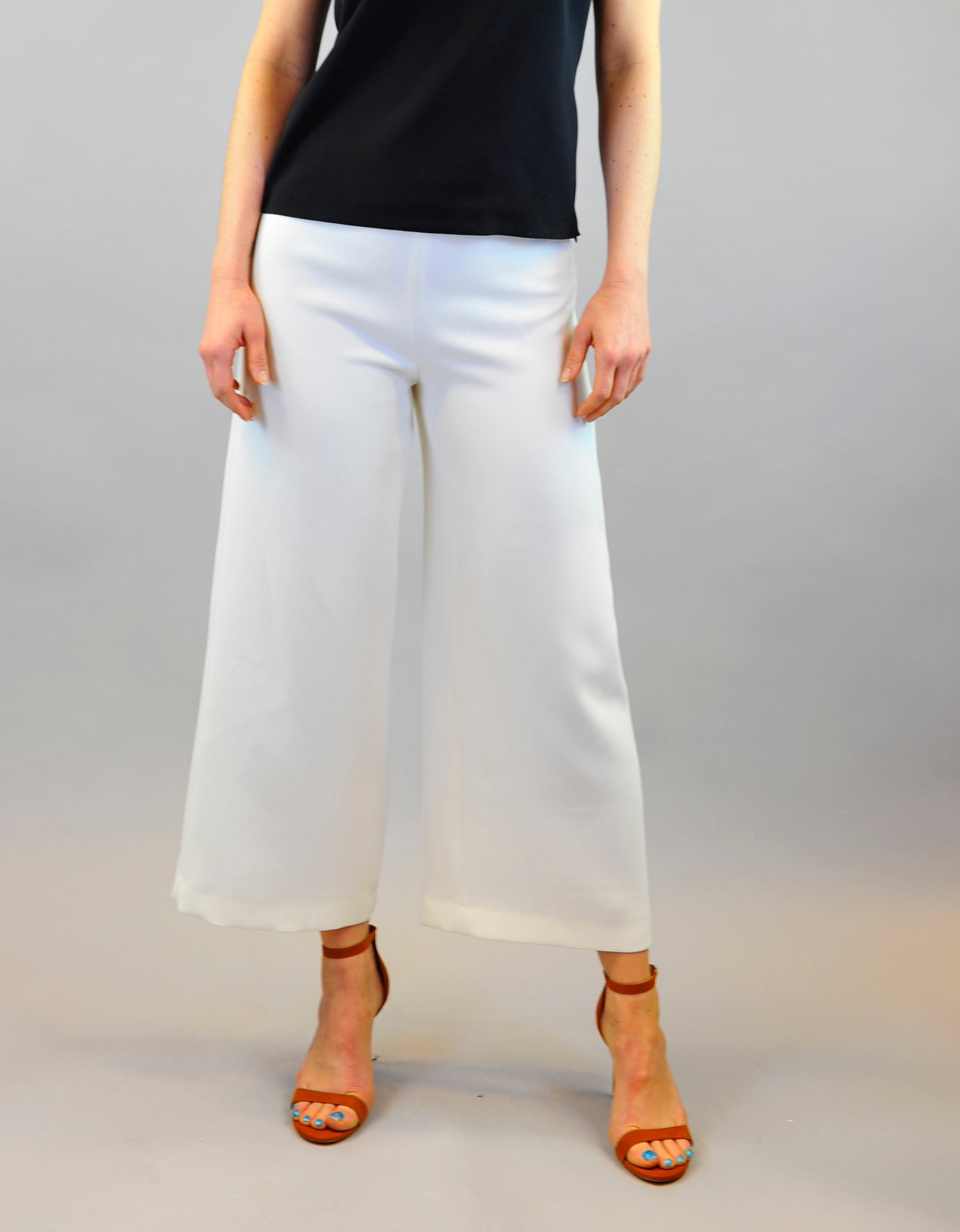 Trousers Magda in cream