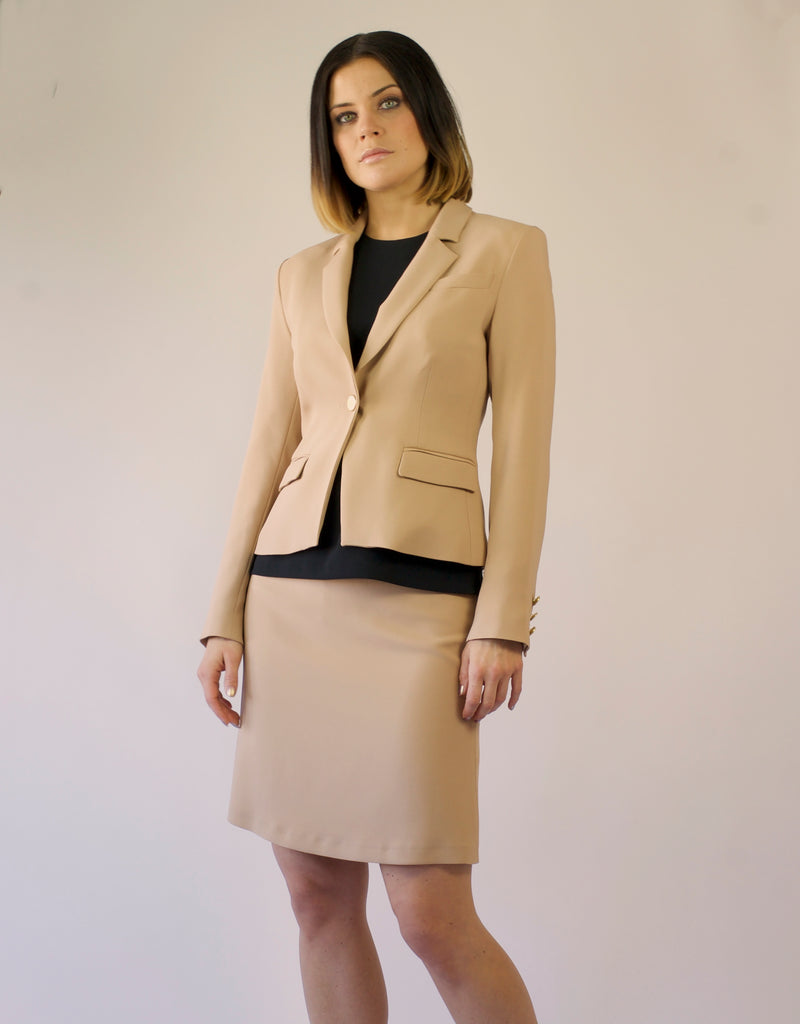 Blazer Molly in golden beige