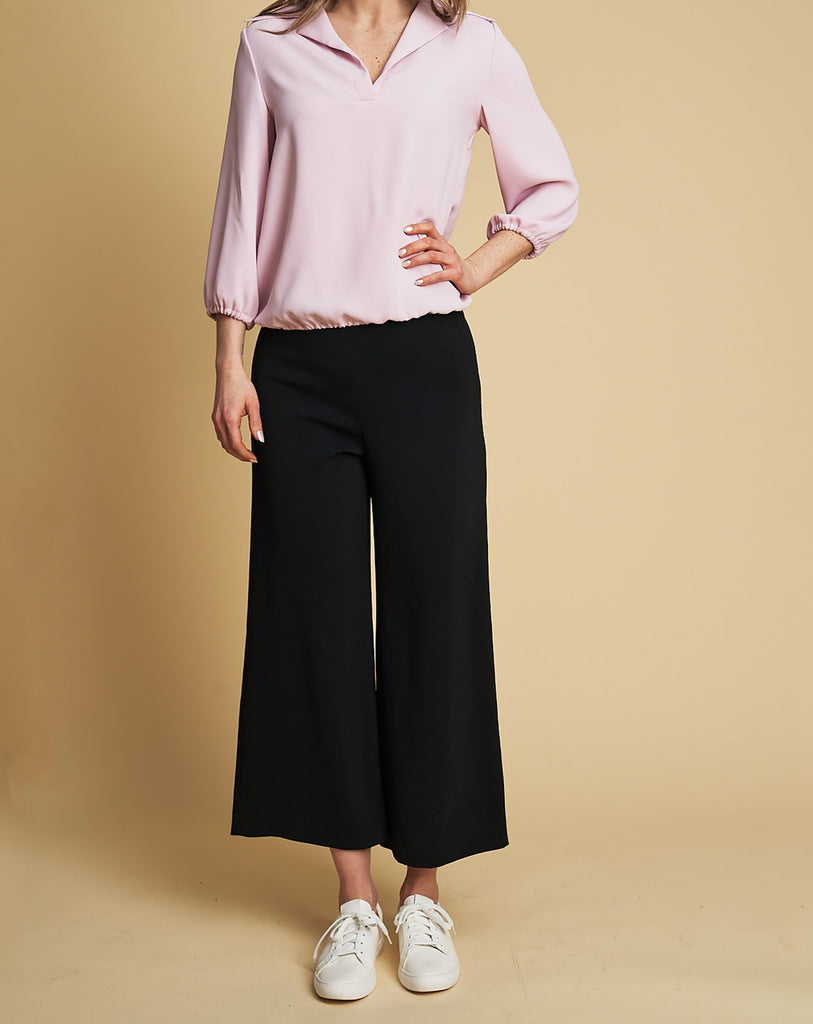 Trousers Magda in black - coming soon