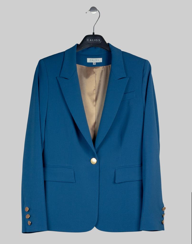 Blazer Polly in teal