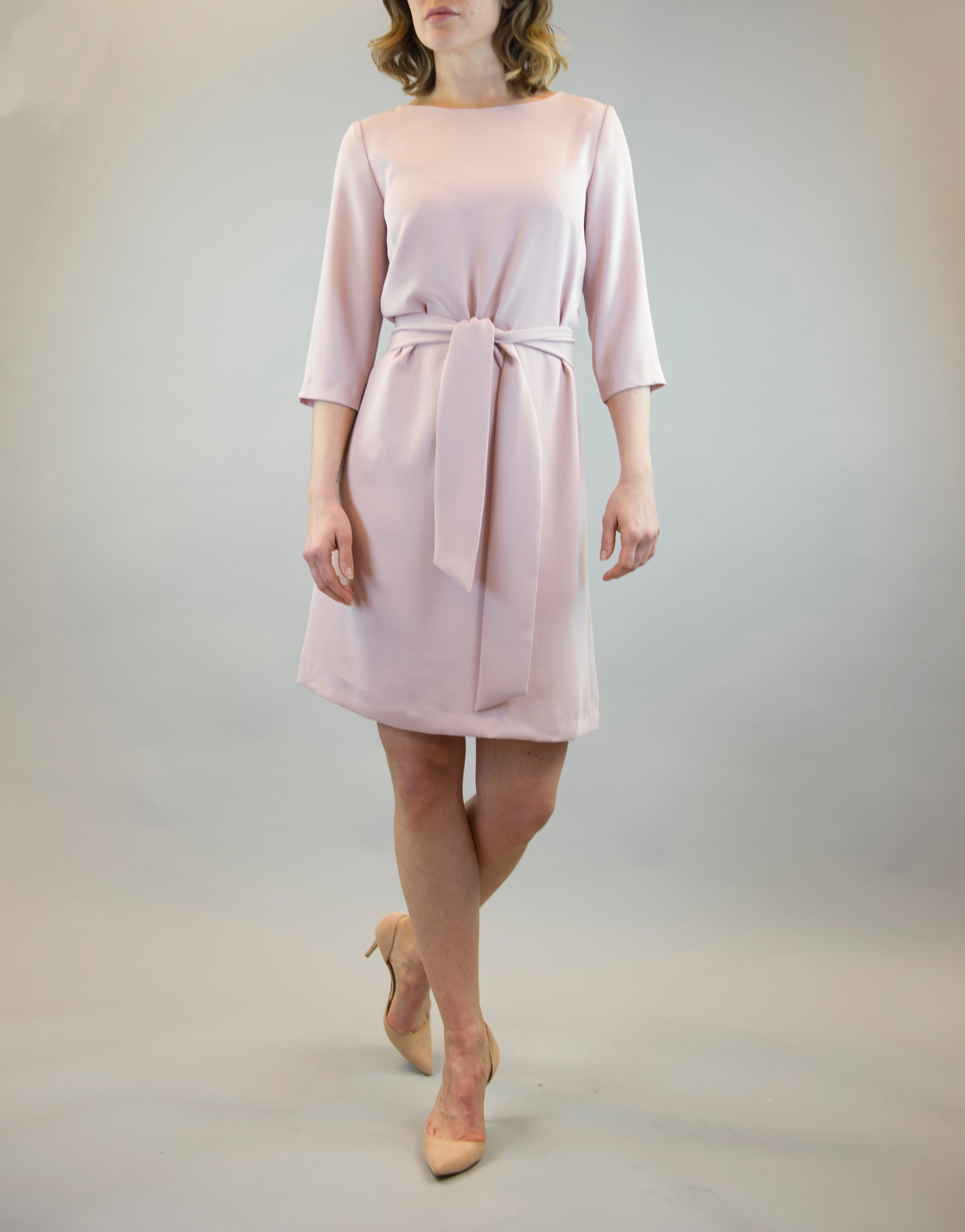 c306e0cf400 Home › Dress Sophie in Dusty Pink. Sale