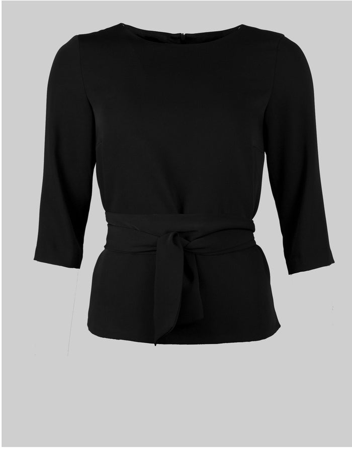 Tailored top Sophie in black