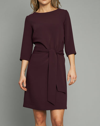 Dress Sophie in plum